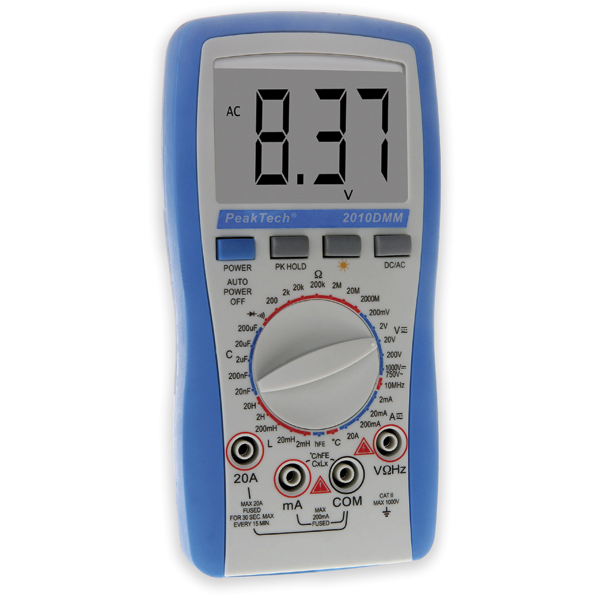 peaktech digital multimeter 2010 b rsch kg werkzeuge. Black Bedroom Furniture Sets. Home Design Ideas
