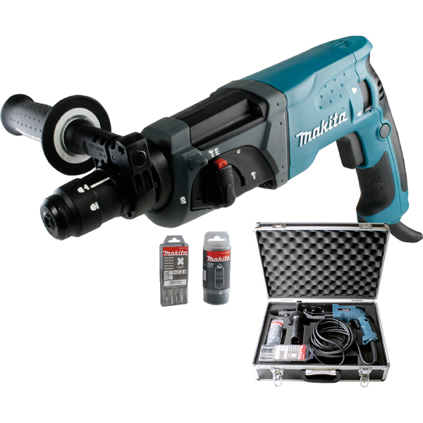 makita sds plus bohrhammer hr2470ftx b rsch kg werkzeuge werkzeugkoffer online kaufen. Black Bedroom Furniture Sets. Home Design Ideas