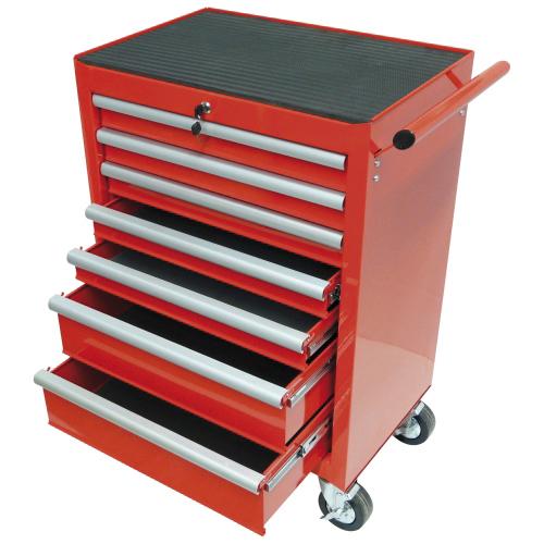 werkstattwagen mit 7 schubladen einzelverriegelung leer b rsch kg werkzeuge. Black Bedroom Furniture Sets. Home Design Ideas