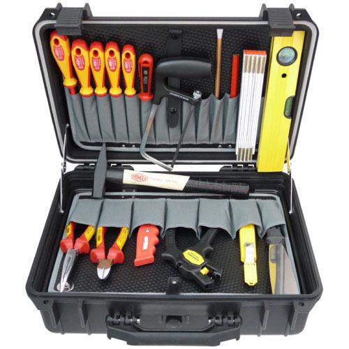 famex 689 10 elektriker werkzeug set 18 tlg in protector koffer b rsch kg werkzeuge. Black Bedroom Furniture Sets. Home Design Ideas
