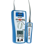 PeakTech 2 in 1 Lan-Tester mit Digital-Multimeter 3365
