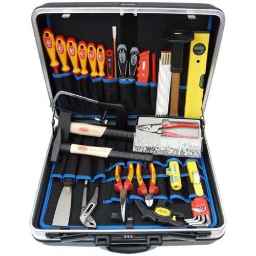 famex 637 10 elektriker werkzeugkoffer set 32 tlg in schalenkoffer b rsch kg werkzeuge. Black Bedroom Furniture Sets. Home Design Ideas